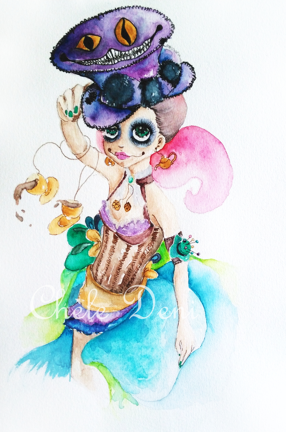Mad Hatter Lady